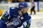 Шайба минского динамовца Александра Китарова вошла в десятку лучших голов недели в КХЛ