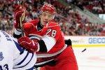 Российский нападающий забросил победную шайбу в матче НХЛ