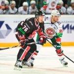 Хоккеисты «Ак Барса» в овертайме обыграли омский «Авангард»