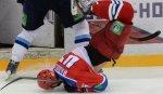 Травматизм в КХЛ вырос на 20% в сравнении с прошлым сезоном - Медведев