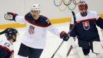 Хоккейная сборная США разгромила команду Словакии