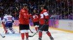 Канадские хоккеисты обыграли норвежцев в матче Олимпиады