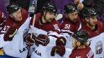 Латвия выбила из хоккейного турнира Швейцарию