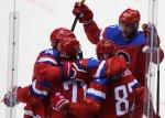 Сборная России по хоккею вышла в четвертьфинал олимпийского турнира в Сочи