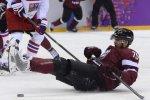 Хоккеист сборной Латвии попался на допинге