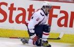 """Российский хоккеист """"Вашингтона"""" Александр Овечкин не смог закончить тренировку команды"""