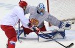 Александр Еременко сыграет в воротах сборной России по хоккею в матче с командой Латвии