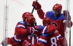 Сборная России по хоккею победила команду Германии в матче Кубка европейского вызова
