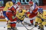 Сборная России уступила шведам в заключительном матче Еврохоккейтура