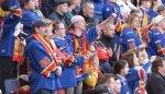 Часть финских фанатов ушла с матча «Йокерит» – «Медвешчак» в знак протеста