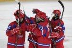 Юниорская сборная России одержала победу над командой США