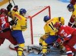 Россия во второй раз подряд проиграла Швеции
