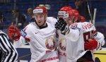 Хоккеисты сборной Беларуси выиграли у Дании и обогнали Россию