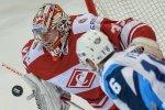Московский «Спартак» одержал волевую победу 2:1 над «Северсталью» в чемпионате КХЛ