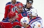 Хоккеисты СКА победили ЦСКА в матче регулярного чемпионата КХЛ