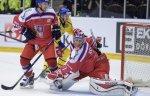 Сборная Швеции по хоккею обыграла команду Чехии в матче Кубка Карьяла
