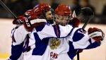 Юниорская сборная России по хоккею вышла в финал Мирового кубка вызова