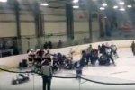ФХР изучит видео массовой драки юных хоккеистов в Магнитогорске