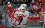"""Шайба Павла Дацюка в овертайме принесла """"Детройту"""" победу над """"Далласом"""" в матче НХЛ"""