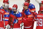 Сборная России одержала пятую победу подряд на чемпионате мира по хоккею