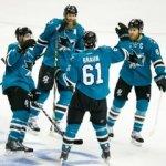 """Хоккеисты """"Сан-Хосе"""" выиграли третий матч финальной серии плей-офф НХЛ против """"Питтсбурга"""""""