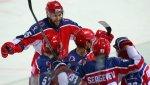 Московский ЦСКА одержал третью победу кряду в матче КХЛ