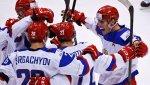 Российские хоккеисты разгромили латвийцев на молодежном чемпионате мира