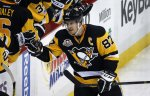 Канадец Сидни Кросби набрал 1000-е очко в регулярных чемпионатах НХЛ