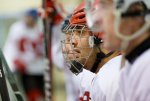 Олимпийская сборная России по хоккею разгромила команду Латвии
