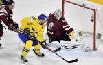 Швеция нанесла сборной Латвии первое поражение на ЧМ-2017