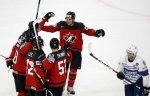 Сборная Канады по хоккею одержала волевую победу над французами в матче ЧМ