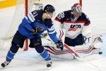 Финляндия победила США и вышла в полуфинал ЧМ по хоккею