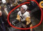 Малкин замахнулся клюшкой на болельщика после поражения в финале НХЛ