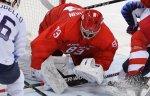 Кошечкин займет место в воротах команды олимпийских атлетов из РФ в четвертьфинале ОИ