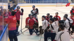 Омский «Авангард» попробовал финский лед