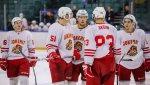 """Хоккеисты """"Йокерита"""" одержали третью победу подряд, обыграв """"Металлург"""""""